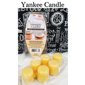Yankee Candle Creamy Pumpkin Cupcake Melts NEW
